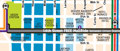 sia-snow-show-16th-street-mall-map | Travel Shop on