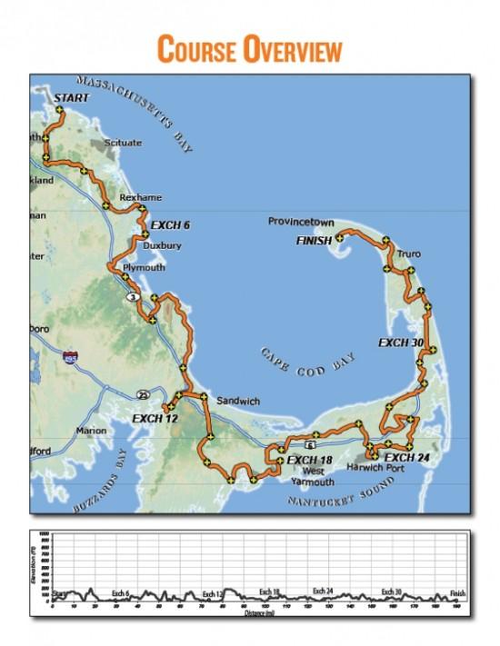 Course overview map courtesy of RagnarRelay.com