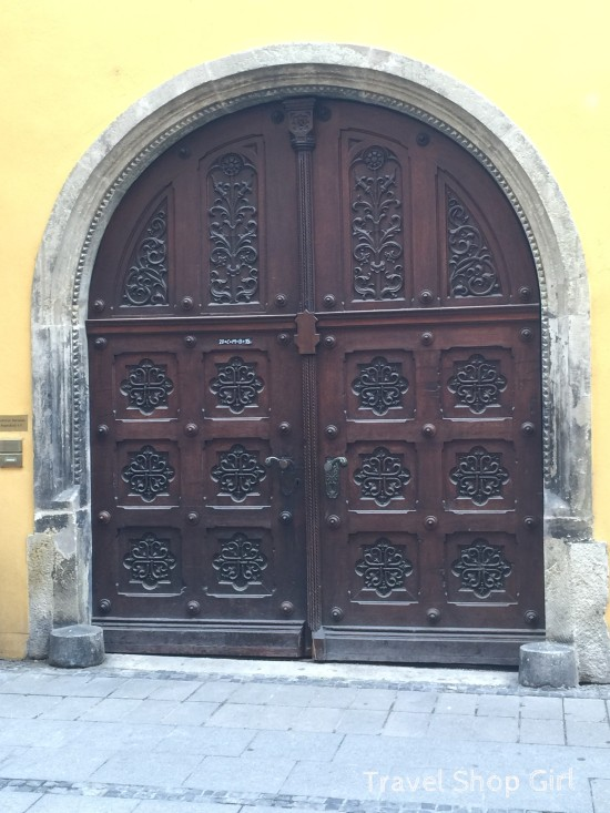 Visiting Bavaria: Doors and Architecture of Regensburg