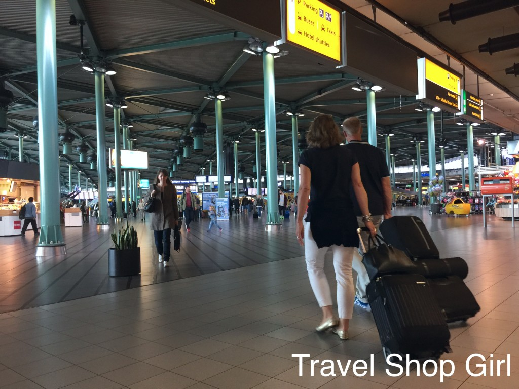 Taking the Train Schiphol Airport to Centraal Station