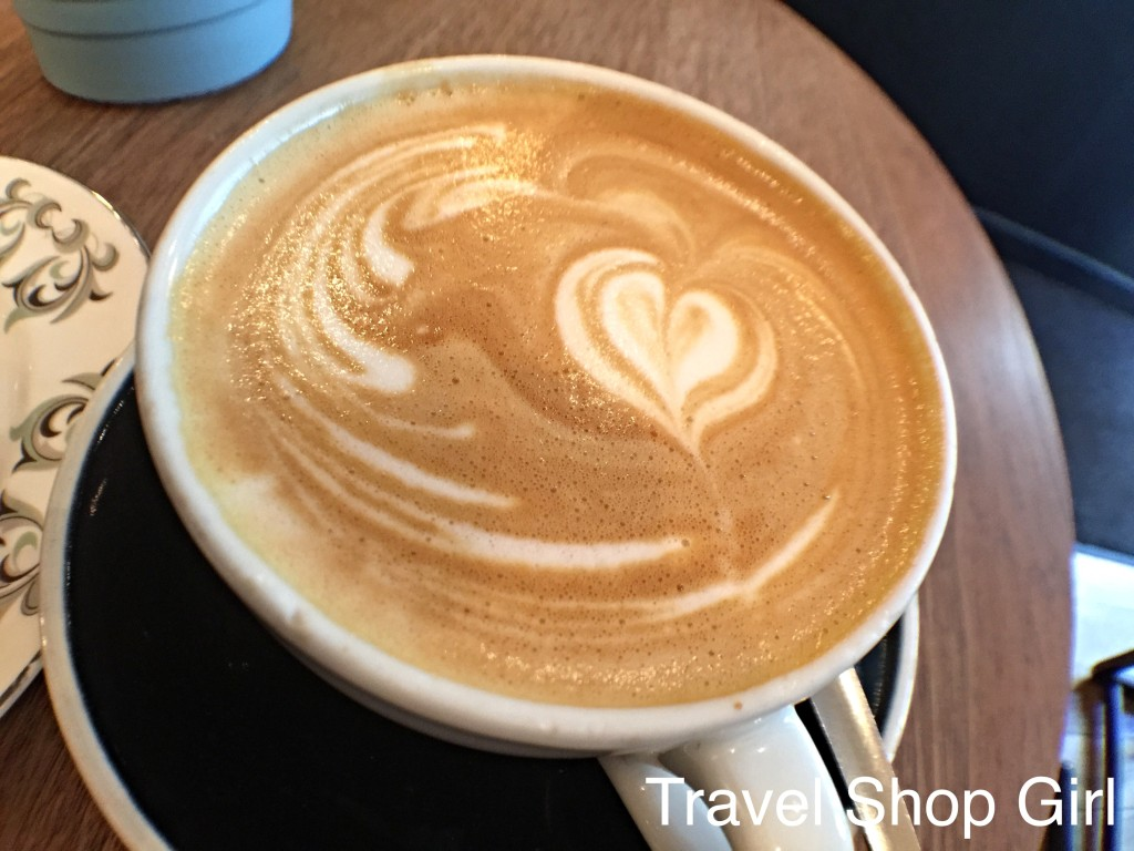 Coffee in London at Flat White