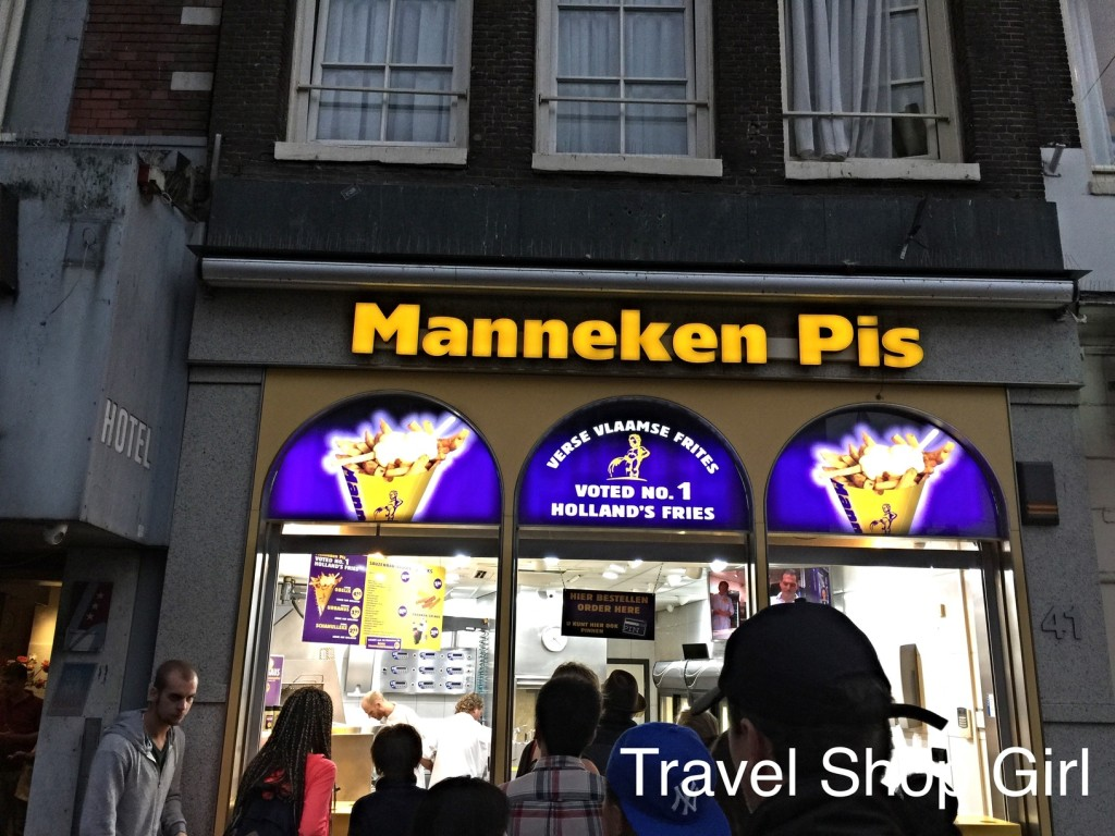dining in Amsterdam
