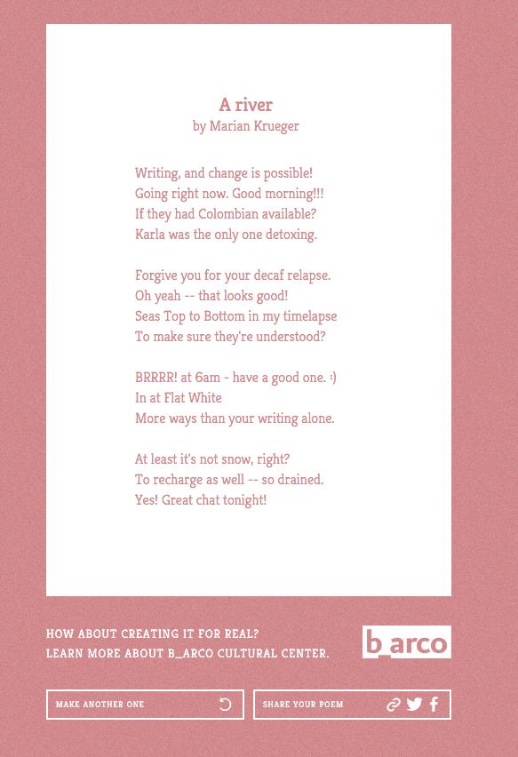 Twitter Poetry
