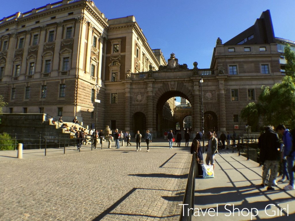 walk through Stockholm