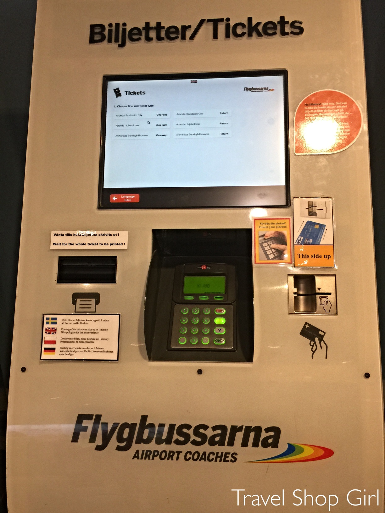 Arlanda airport to Stockholm