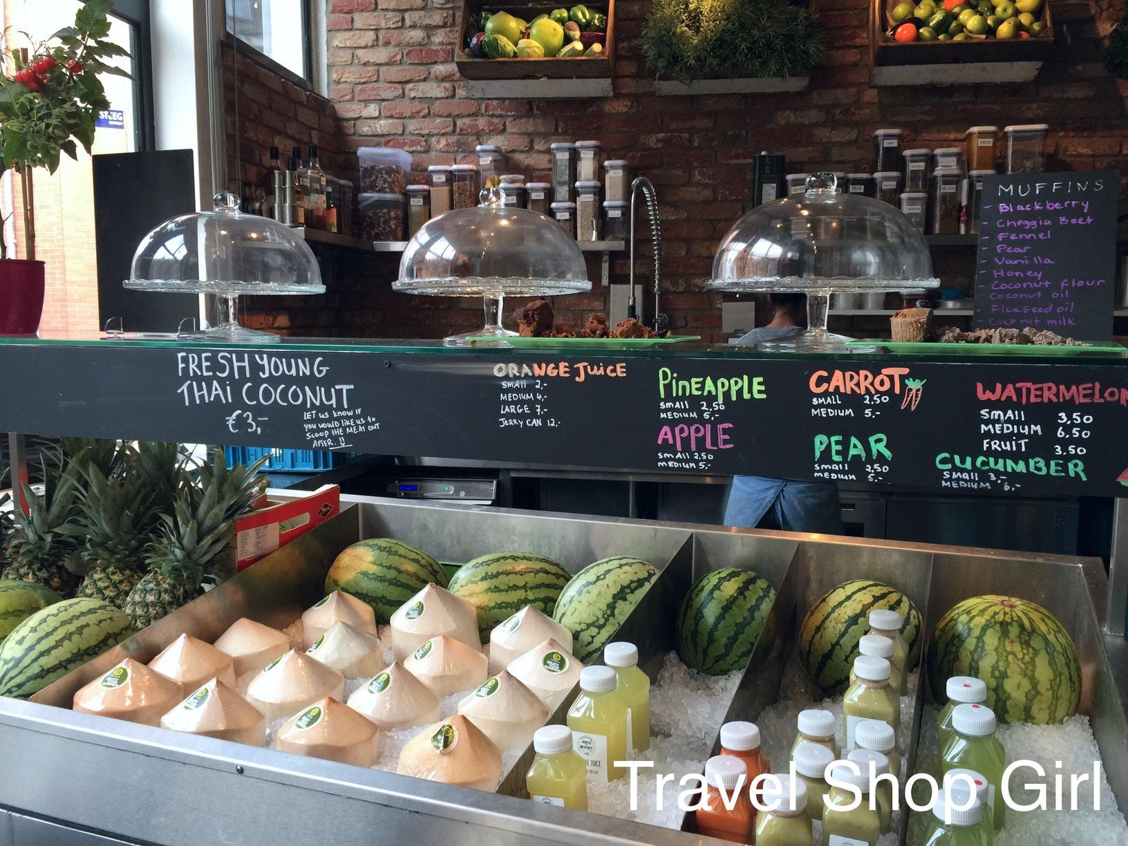 dining in Amsterdam