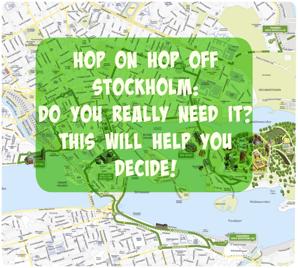 hop on hop off Stockholm