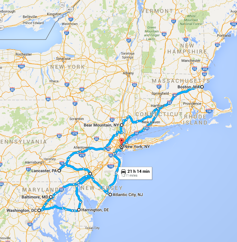 Northeast Road Trip
