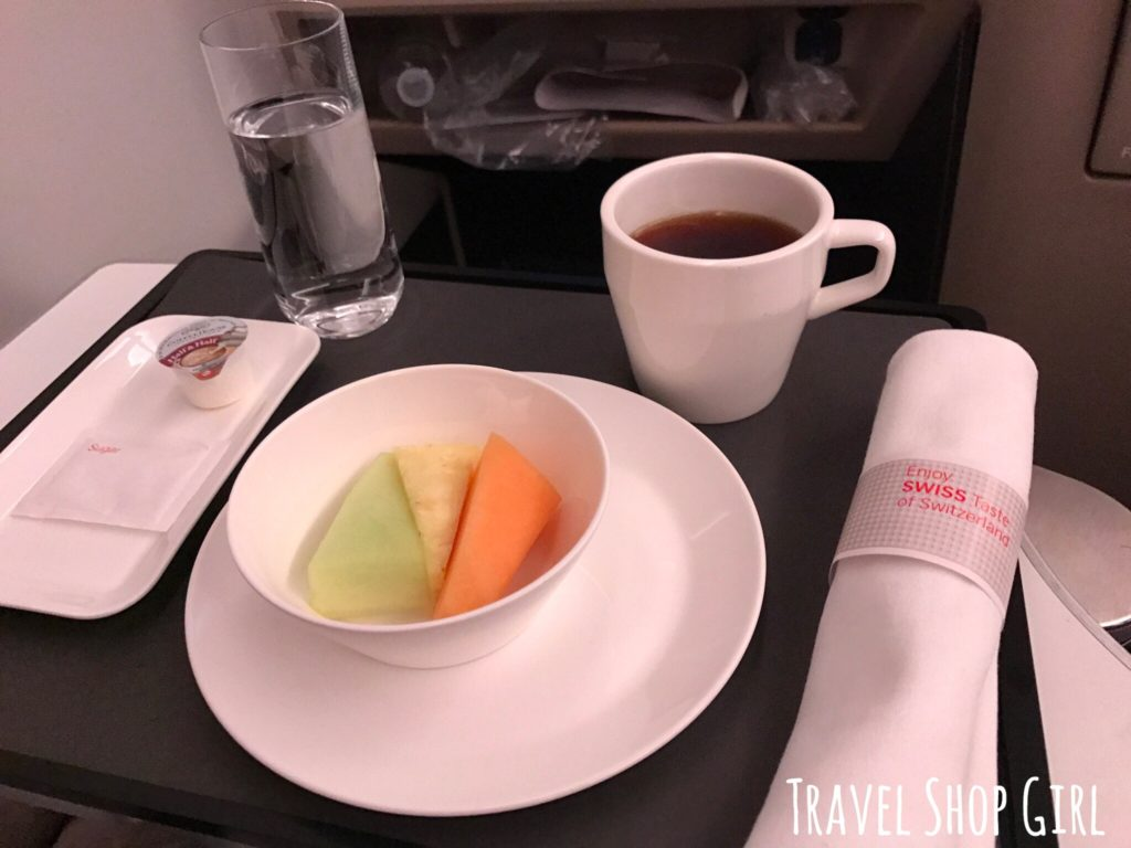 Swiss Air Business Class Review
