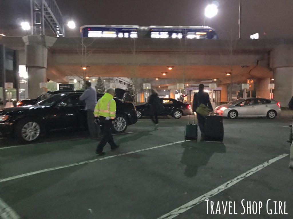 Uber airport pickup