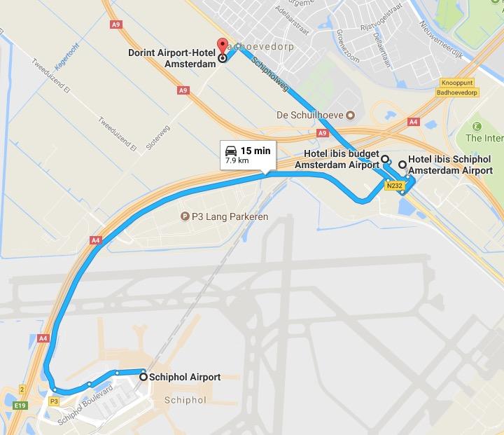 Dorint Airport Hotel Amsterdam Shuttle