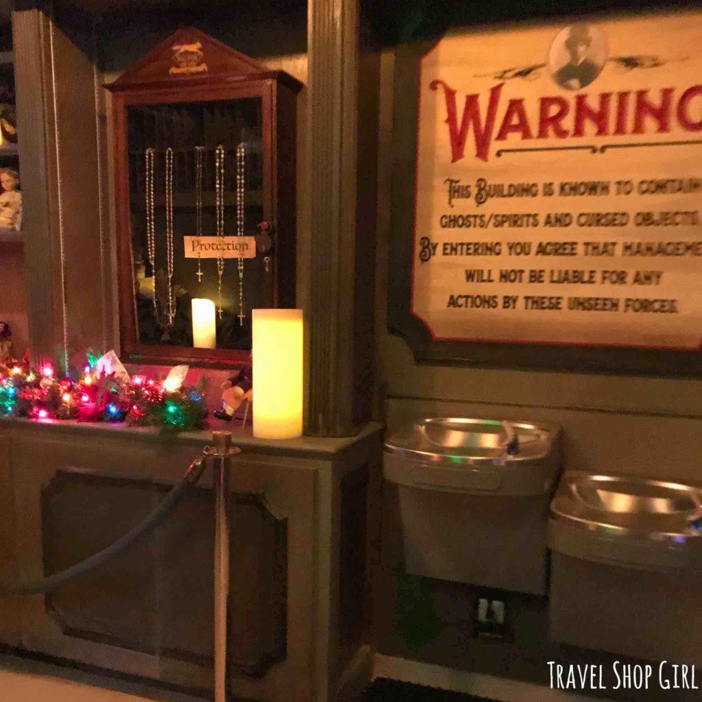 Scared In Las Vegas A Visit To Zak Bagans Haunted Museum