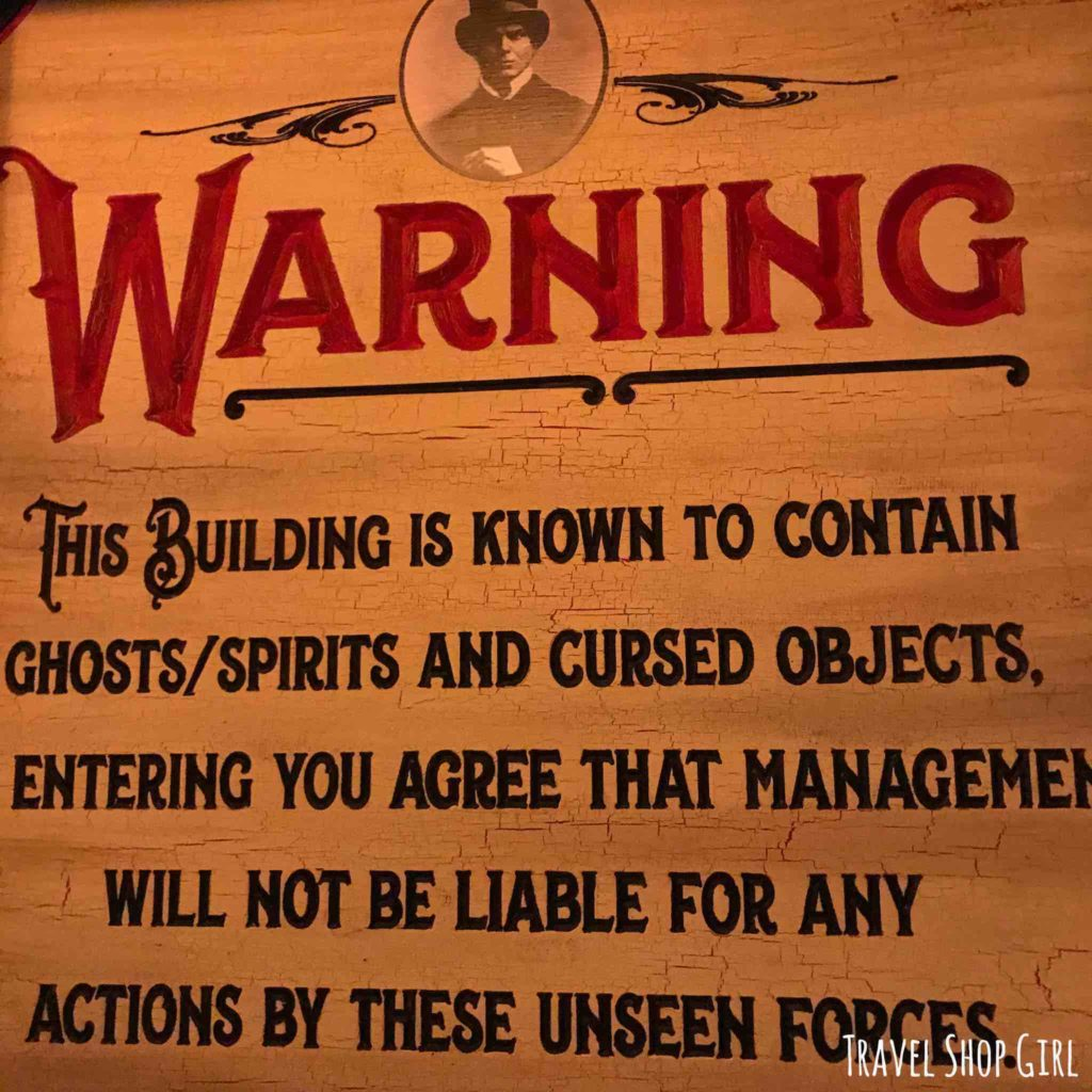 Scared In Las Vegas A Visit To Zak Bagans Haunted Museum